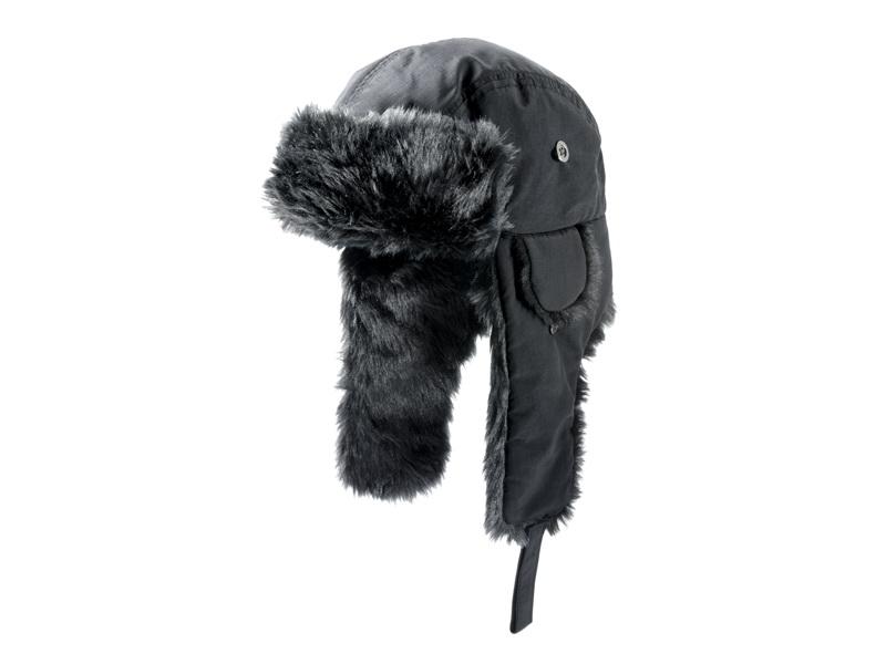 Шапка ушанка Mercedes-Benz Winter Hat, Trucker, Anthracite