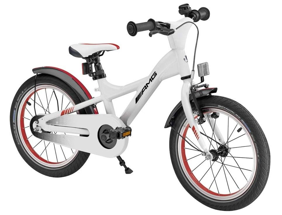 Детский велосипед Mercedes-Benz Children's Bike, AMG, White