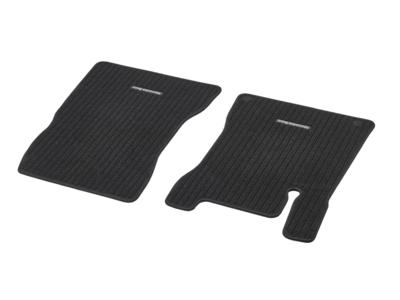 Коврики салона репсовые черные для Mercedes Коврик водителя / переднего пассажира, из 2-х частей