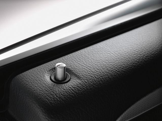 Дверная кнопка AMG, круглая, сзади