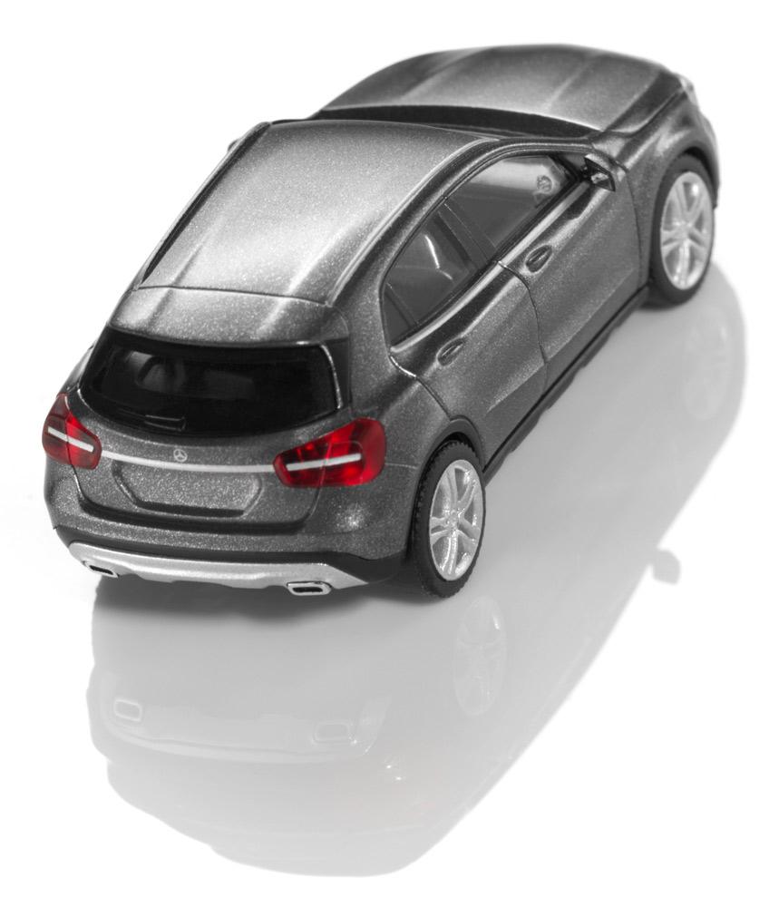 Модель автомобиля GLA, 1:87, серый
