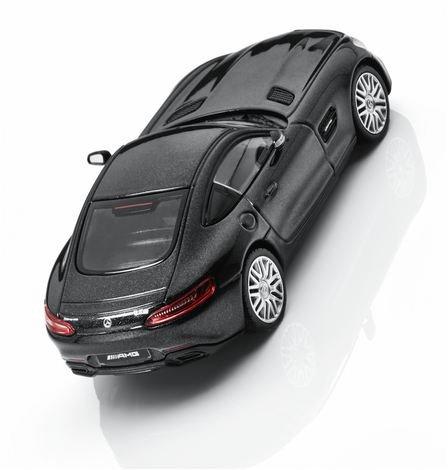 Модель Mercedes-AMG GT (C190),Coupé, Scale 1:43, Magnetite Black