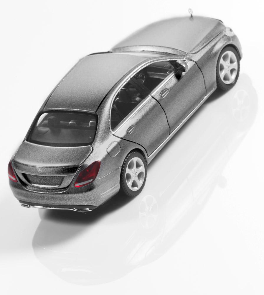 Модель C-Класс седан Exclusive, серебристый