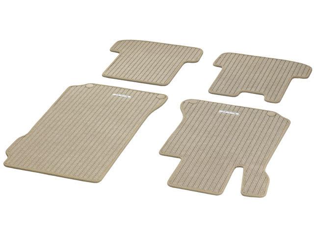 """Рипсовые коврики CLASSIC, комплект, из 4-х частей, """"Бежевый миндаль"""""""