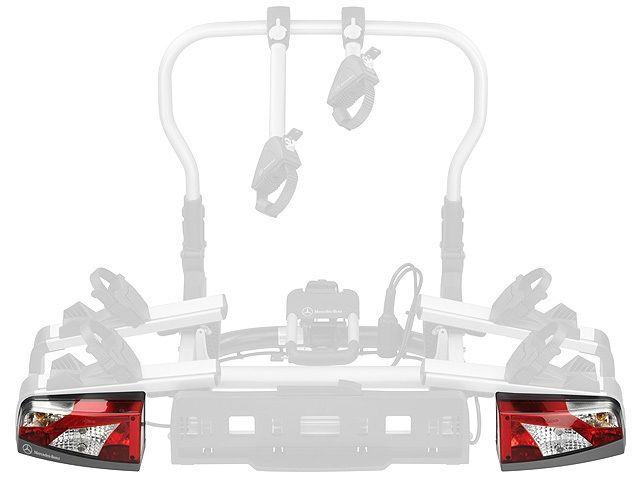 Набор задних фонарей для держателя 2-х велосипедов, сзади