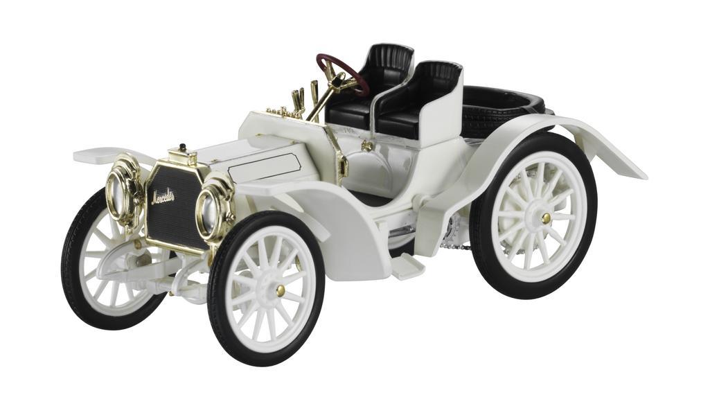 Модель Симплекс 40 л.с., 1902 г., белый, 1:43