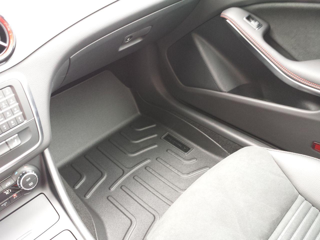 Коврики-поддоны, CLASSIC, Коврик водителя/переднего пассажира, из 2-х частей