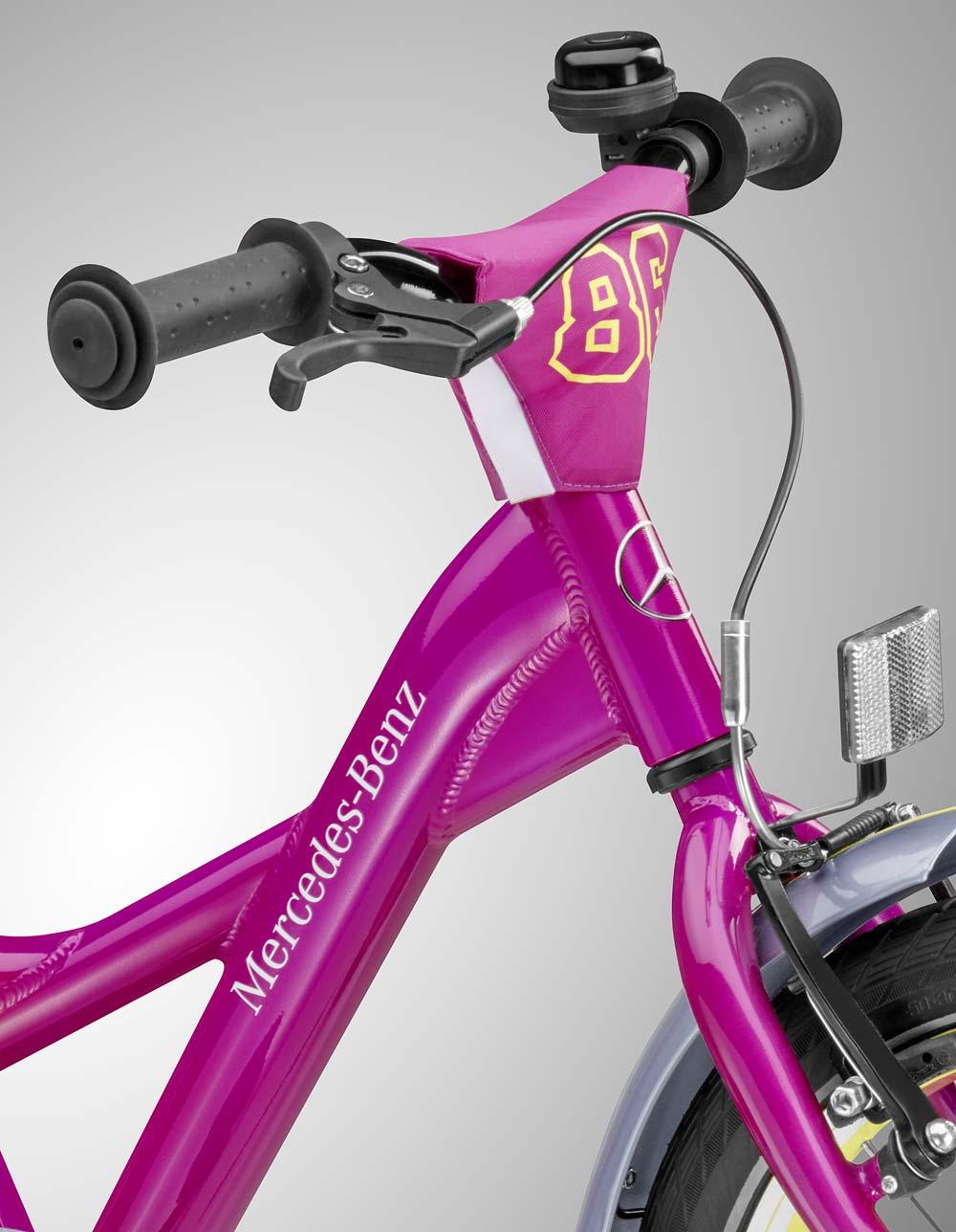 Велосипед детский, розовый