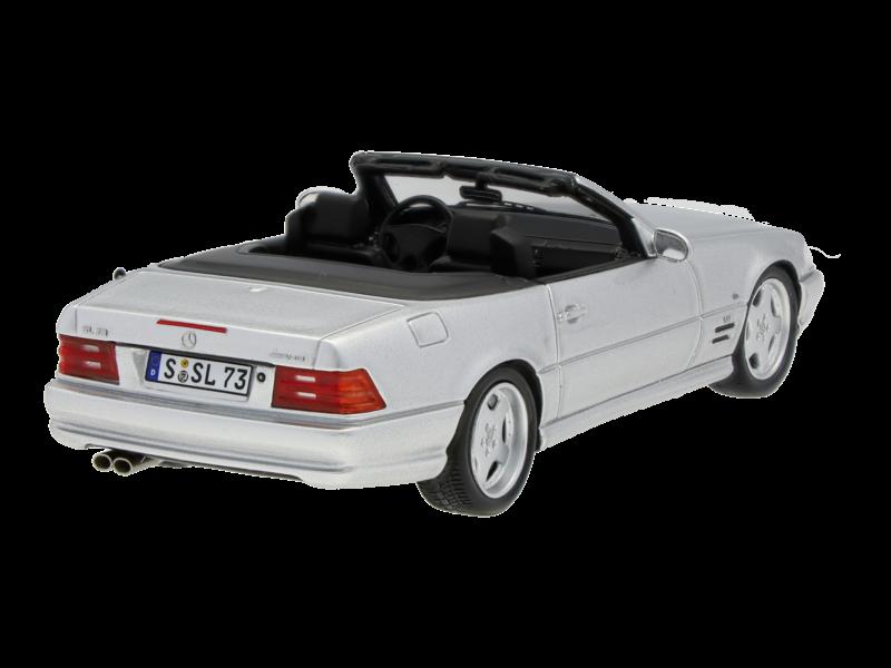 Модель SL 73 AMG R 129 (1999),серебристый, 1:43