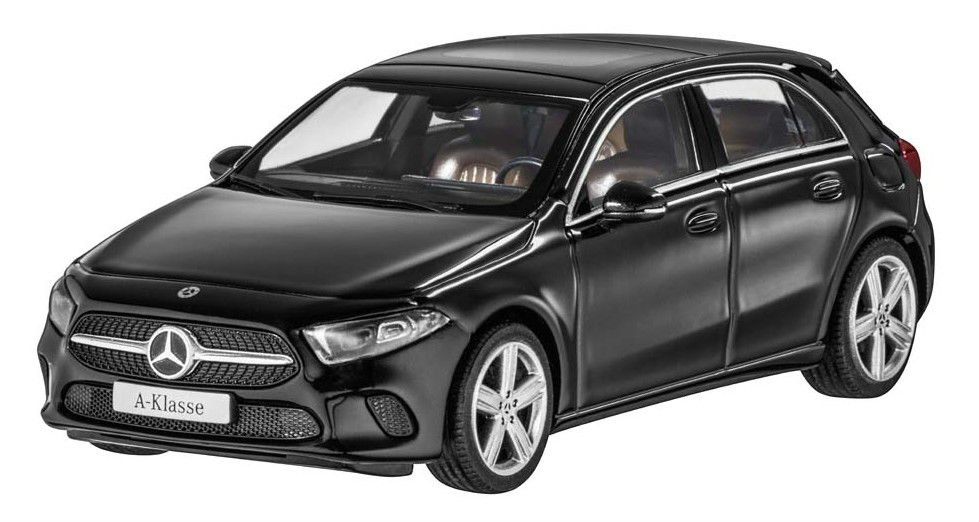 Модель Mercedes-Benz A-Class (W177),Progressive Line, Scale 1:43, Cosmos Black