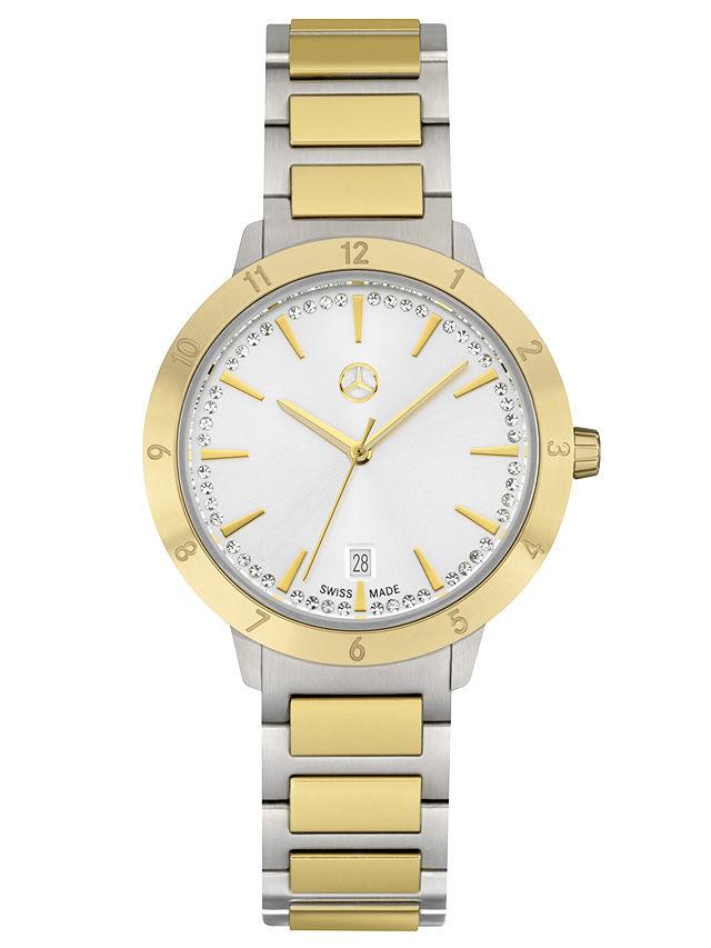 Наручные часы, Для женщин, Classy Punk Mark 2 Серебристый / Золотистый цвет, Нержавеющая сталь