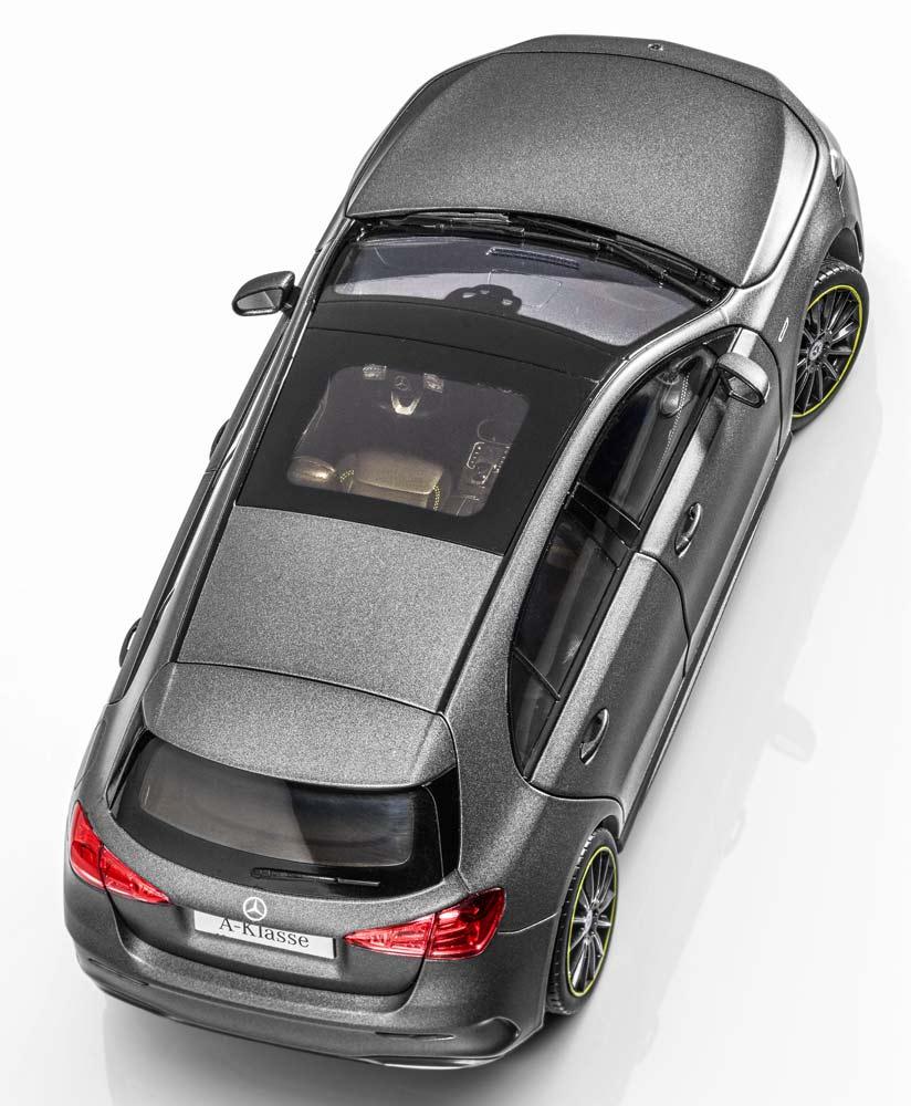 Модель автомобиля A-Класса AMG Line W177, серый