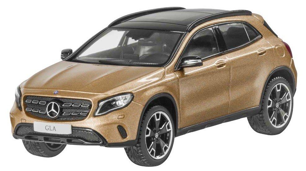 Модель автомобиля Mercedes GLA, Canyon Beige, Scale 1:43