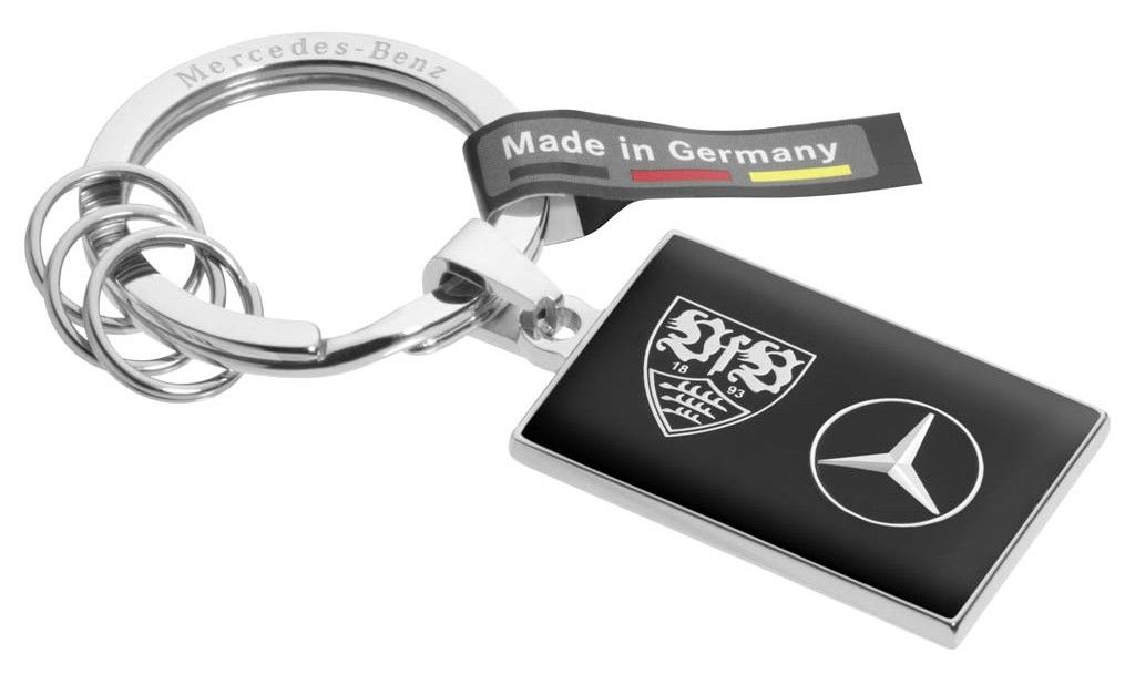 Брелок Mercedes-Benz Key ring, Bad Cannstatt, Black