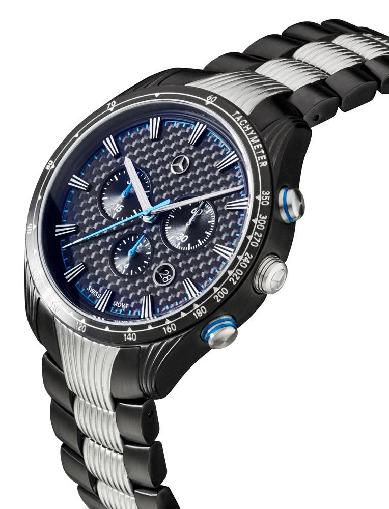 Часы-хронограф мужские Motorsport Chrono Black