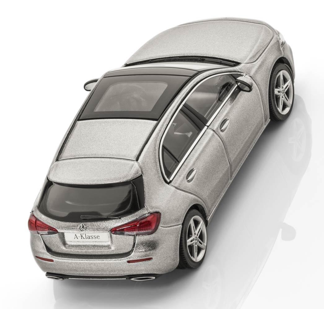 Модель Mercedes-Benz A-Class (W177),Progressive Line, Scale 1:43, Silver