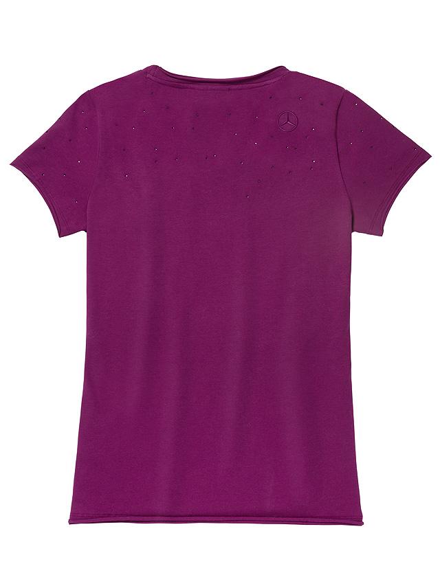 Женская футболка Mercedes Women's T-shirt, Plum XS