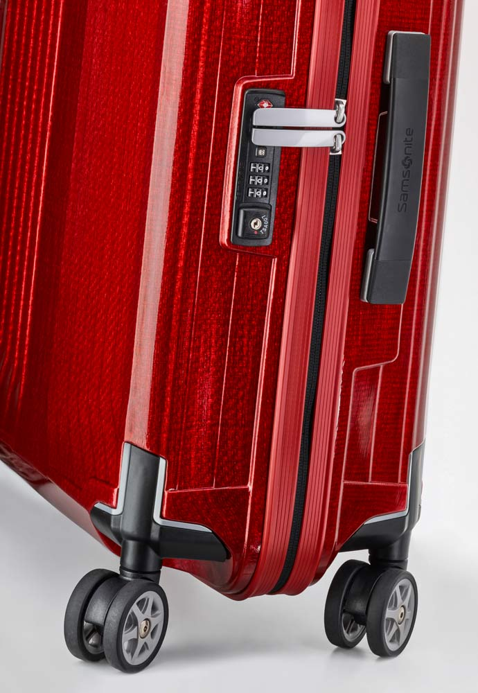 Чемодан Samsonite Lite-Box, Spinner 75, размер L, красный