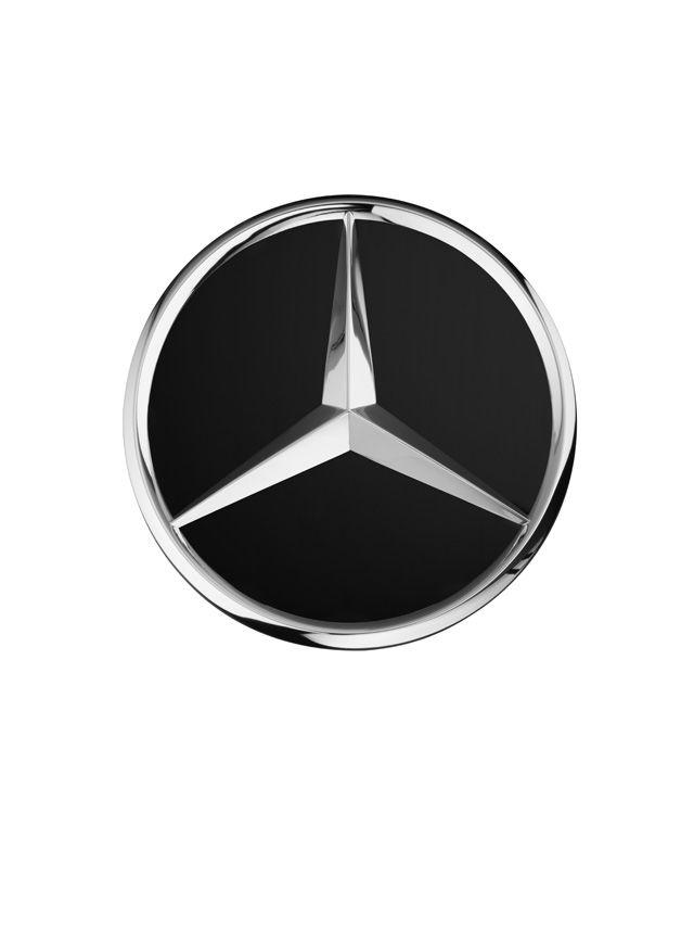 Крышка ступицы колеса, Звезда выступает Черный матовый