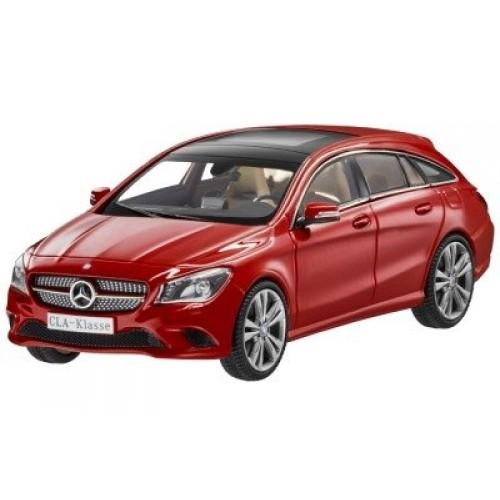 Модель Mercedes-Benz CLA-Klasse, Shooting Brake, Jupiter Red, Scale 1:43
