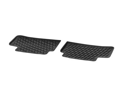 Коврики салона полиуритановые черные для Mercedes A class V177Задняя часть салона, из 2-х частей
