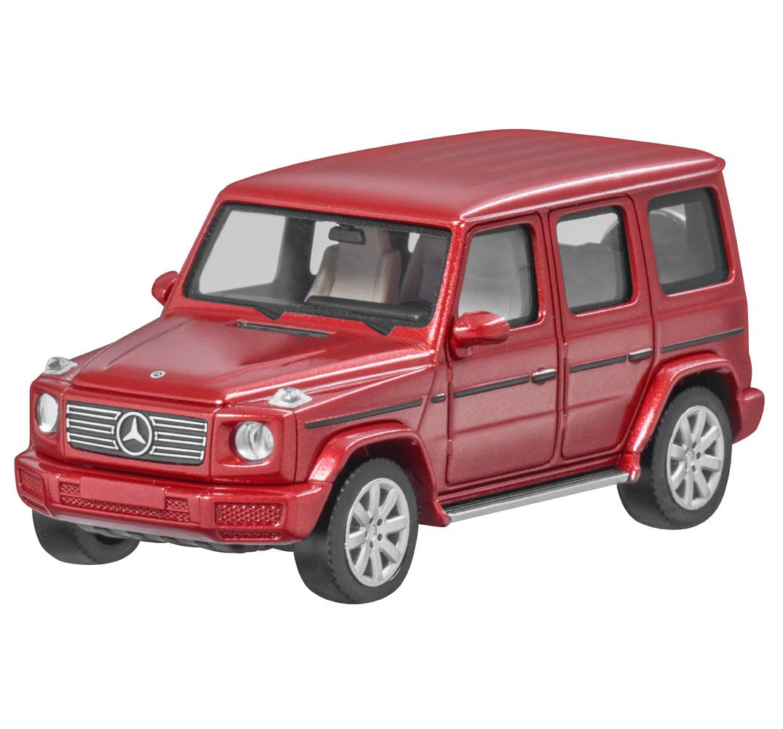 Модель G-Класса W463, 1:87, красная