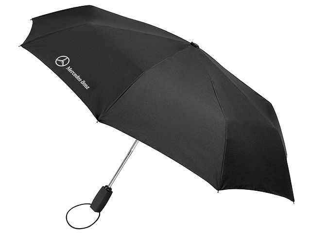 Складной зонт, черный
