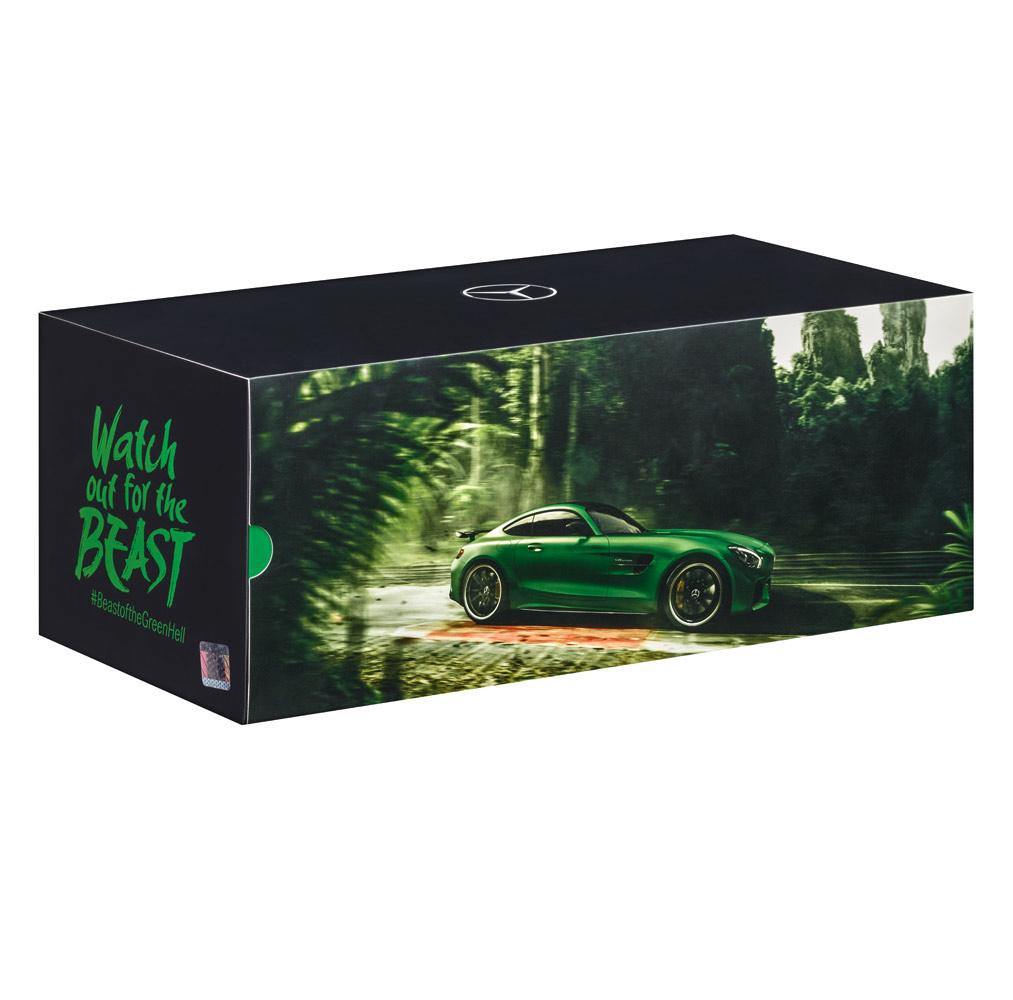 Модель Mercedes-AMG GT R, 1:18