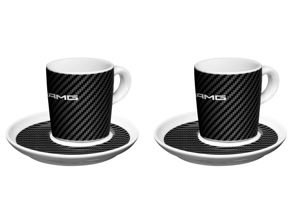 Чашки для кофе AMG, набор из 2 штук