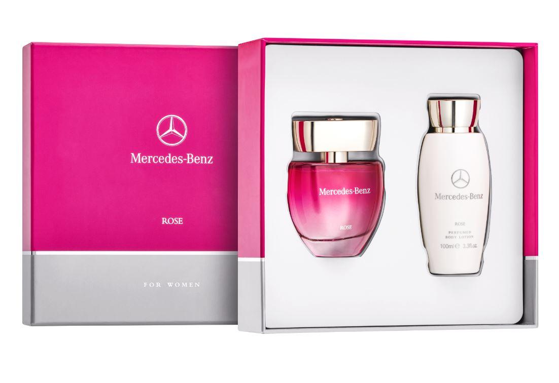 Подарочный набор Mercedes-Benz Parfume Rose