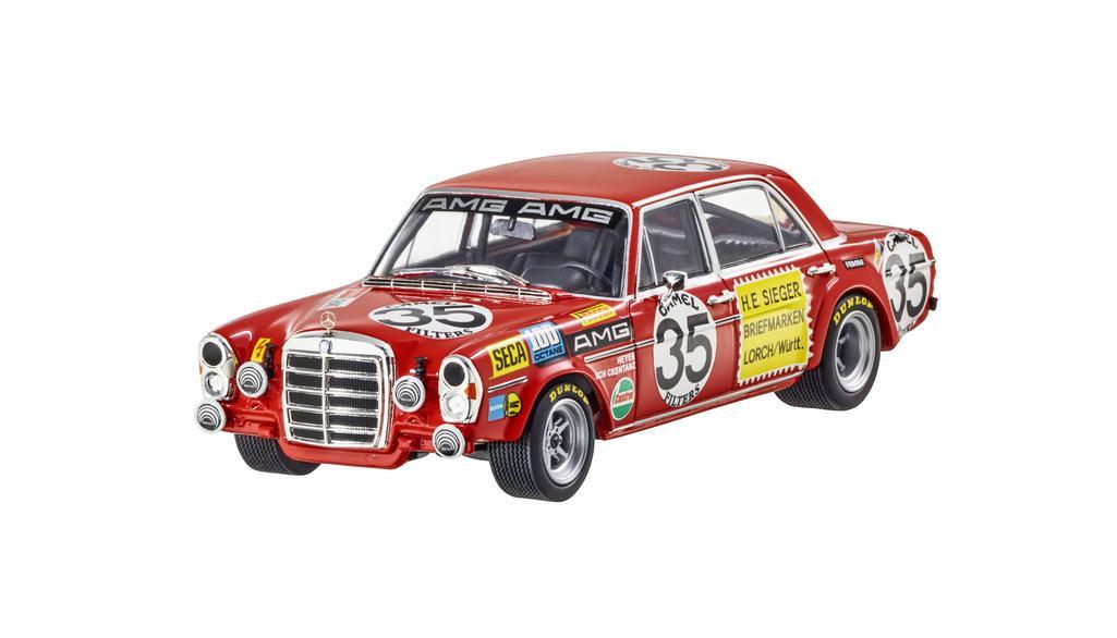 Модель 300 SEL 6,8 AMG W 109 (1971) красный, 1:43