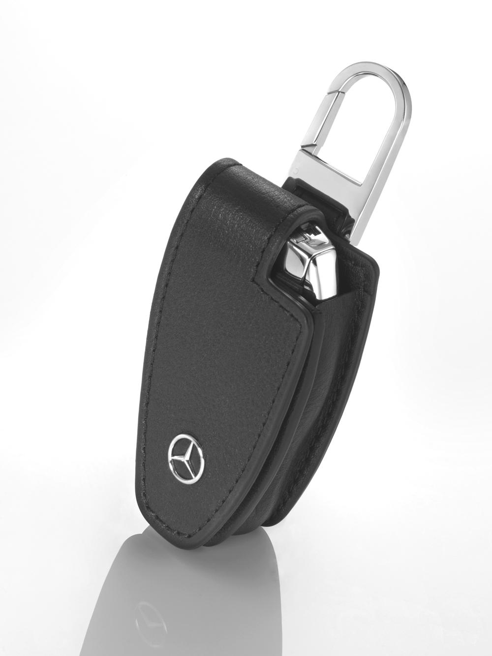 Чехол для автомобильного ключа, черный