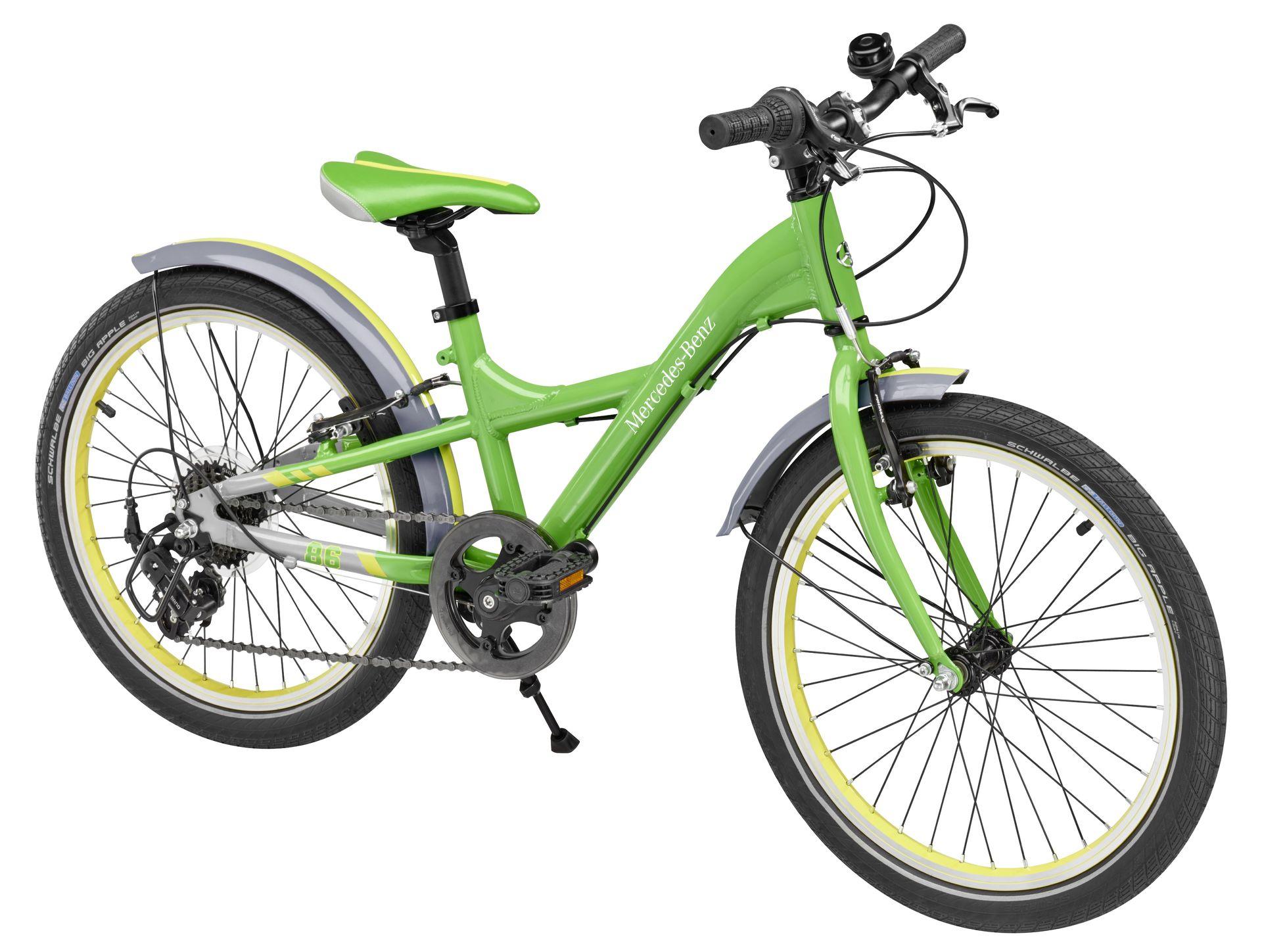 Детский велосипед Mercedes-Benz Chidren's Bike, Green