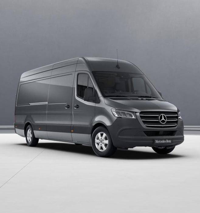 Модель автомобиля Sprinter фургон, 1:18, Grey
