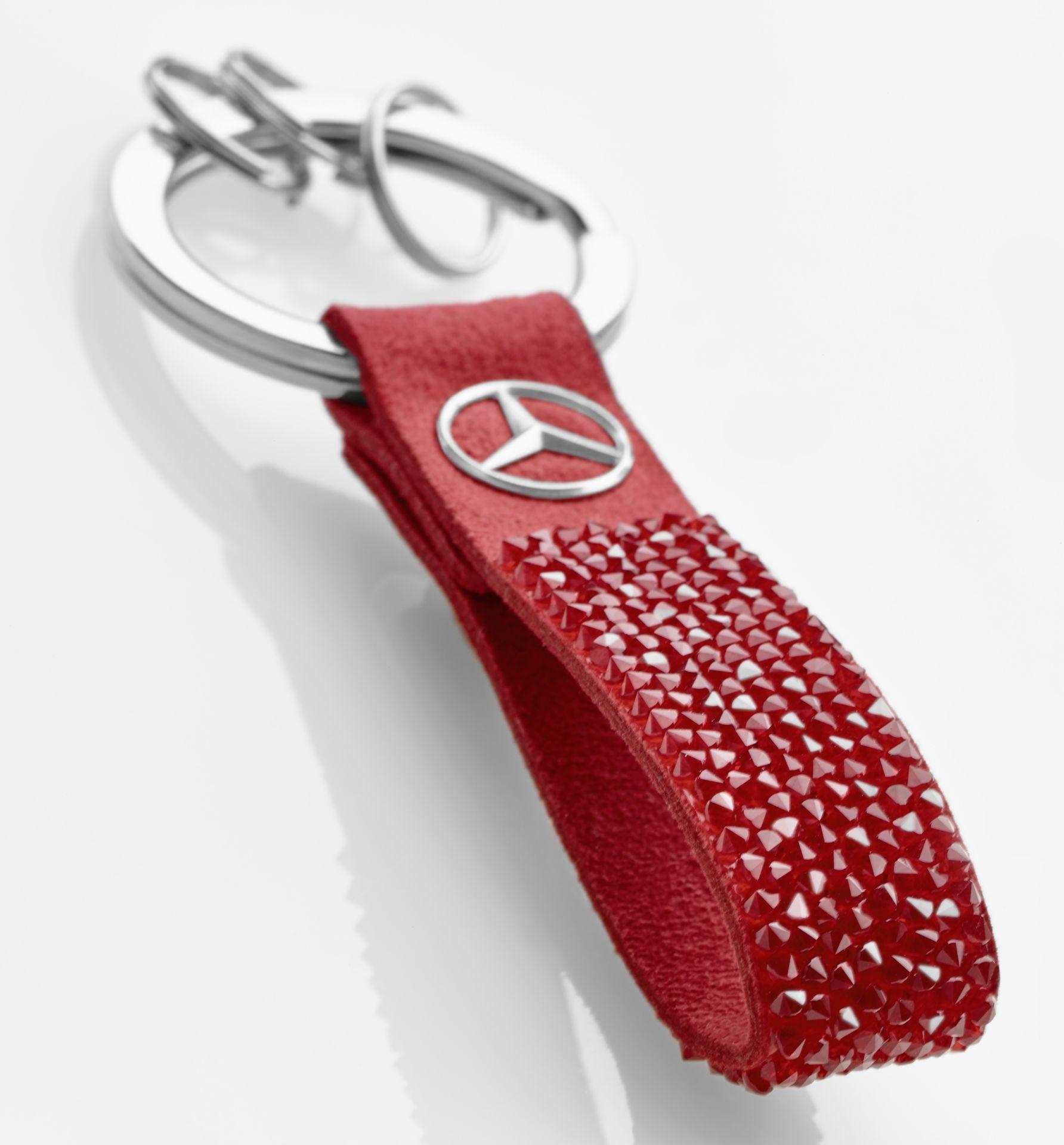 Брелок Mercedes-Benz Key Ring, Milano, Red, Swarovski