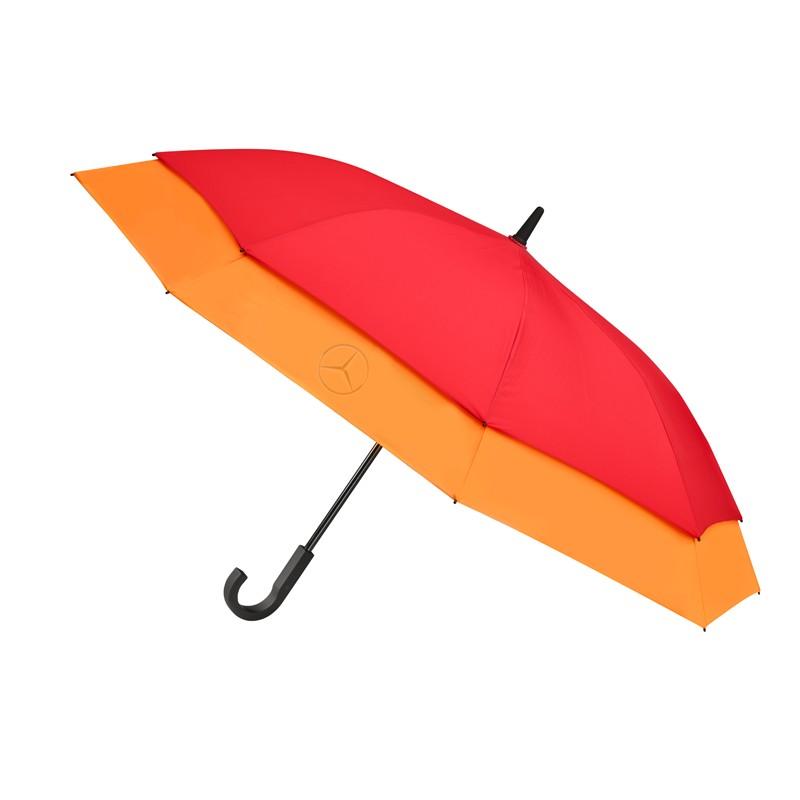 Зонт-трость Mercedes-Benz Conventional Umbrella, Stretch, red / orange