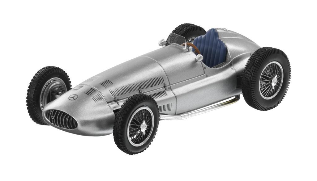 Модель 3-litre Formula race car, W154, 1939, Silver, 1:43
