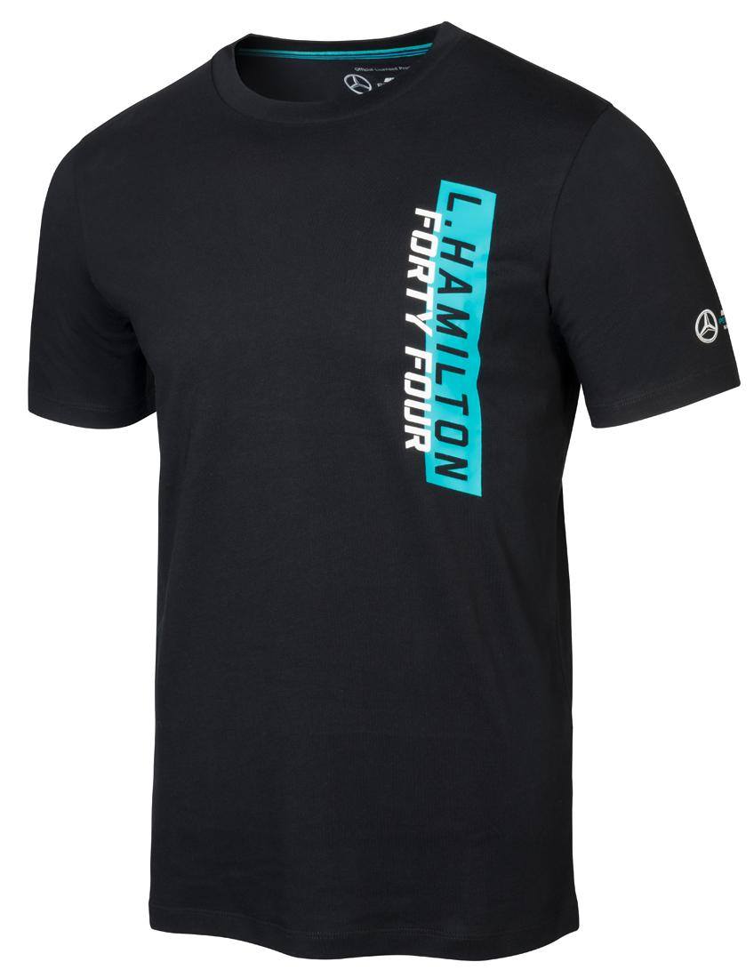 Черная мужская футболка, LH