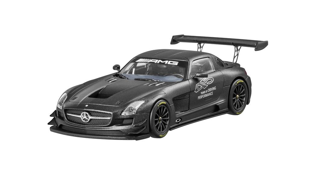 Модель SLS AMG GT3, Matt Black, 1:43