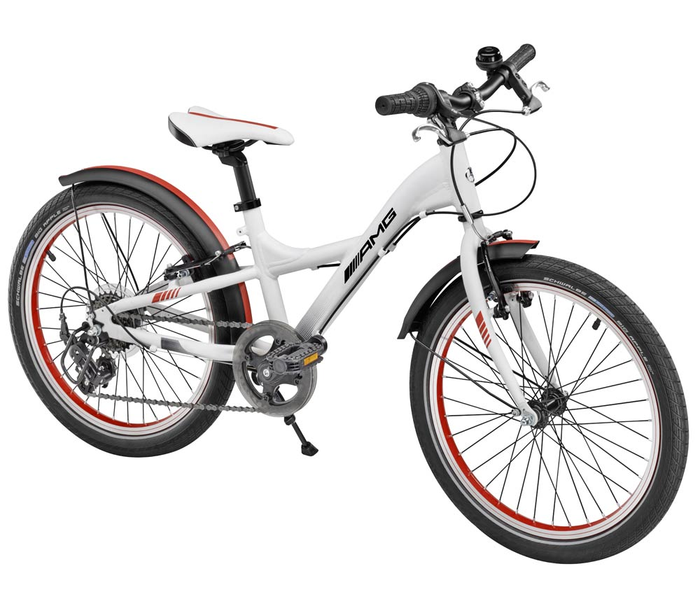 Детский велосипед Mercedes-Benz Chidren's Bike, White, EU