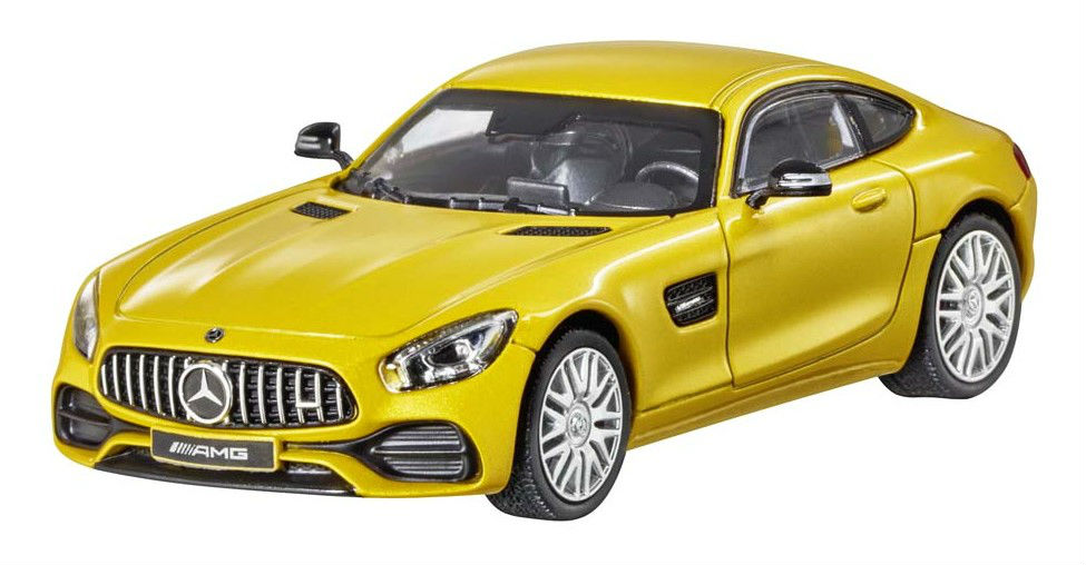 Модель Mercedes-AMG GT (C190),Coupé, Scale 1:43, Solarbeam