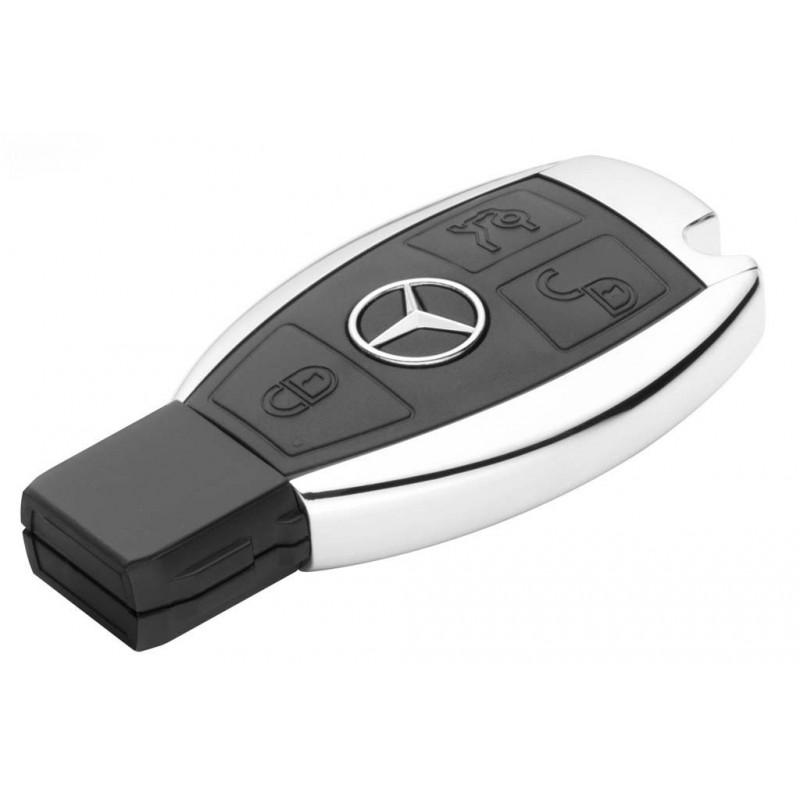 Флешка в форме ключа Mercedes USB-Stick 4 GB Capacity