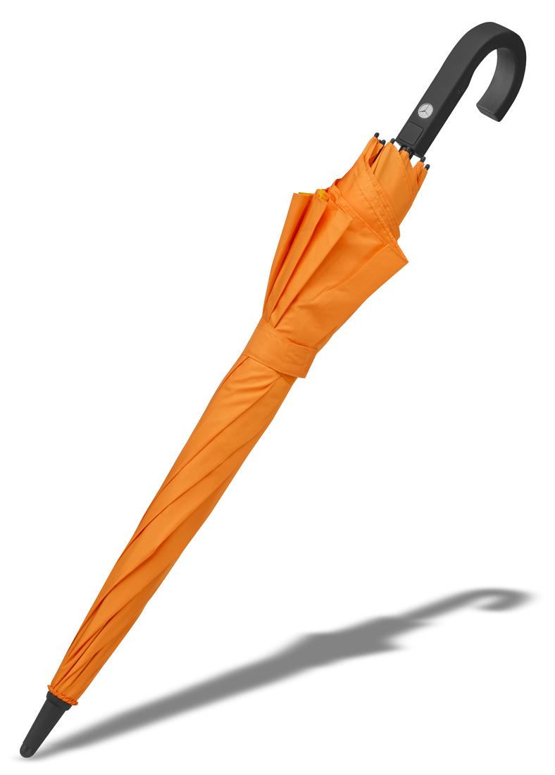 Зонт-трость Mercedes-Benz Conventional Umbrella, Stretch, orange / yellow