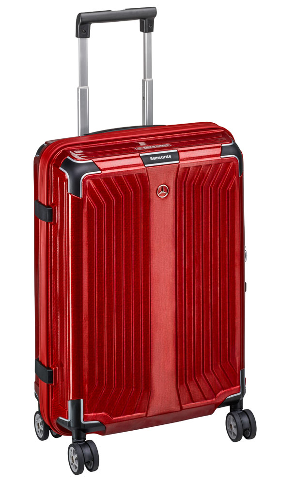 Чемодан Samsonite Lite-Box, Spinner 55, размер S, красный