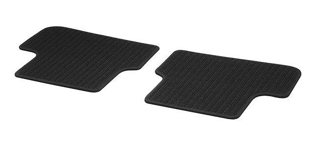 Рипсовые коврики CLASSIC, Задняя часть салона, из 2-х частей