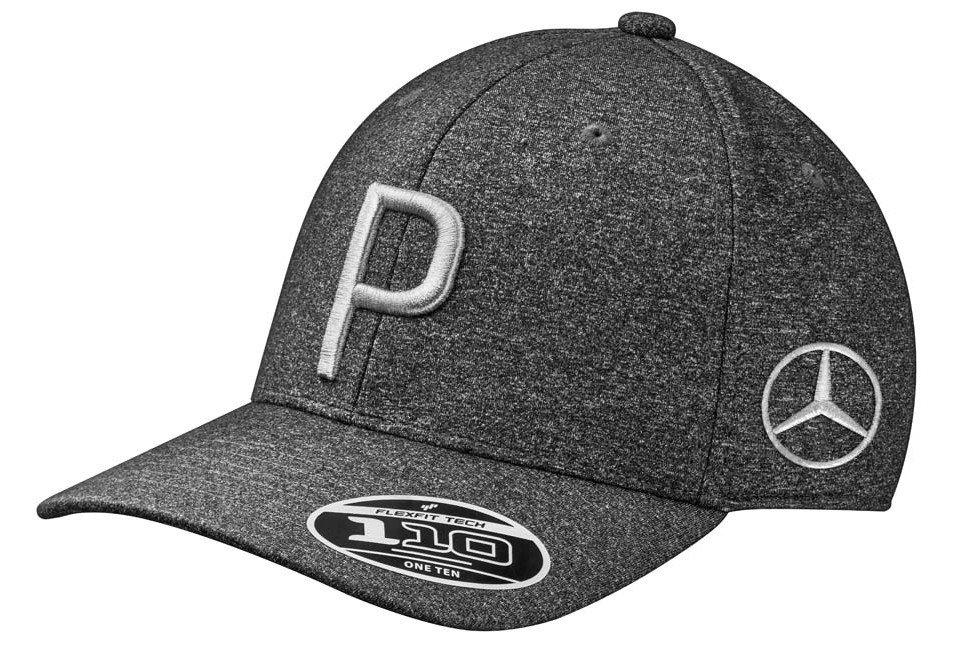Бейсболка Mercedes Golf Cap, Black/Grey, by PUMA