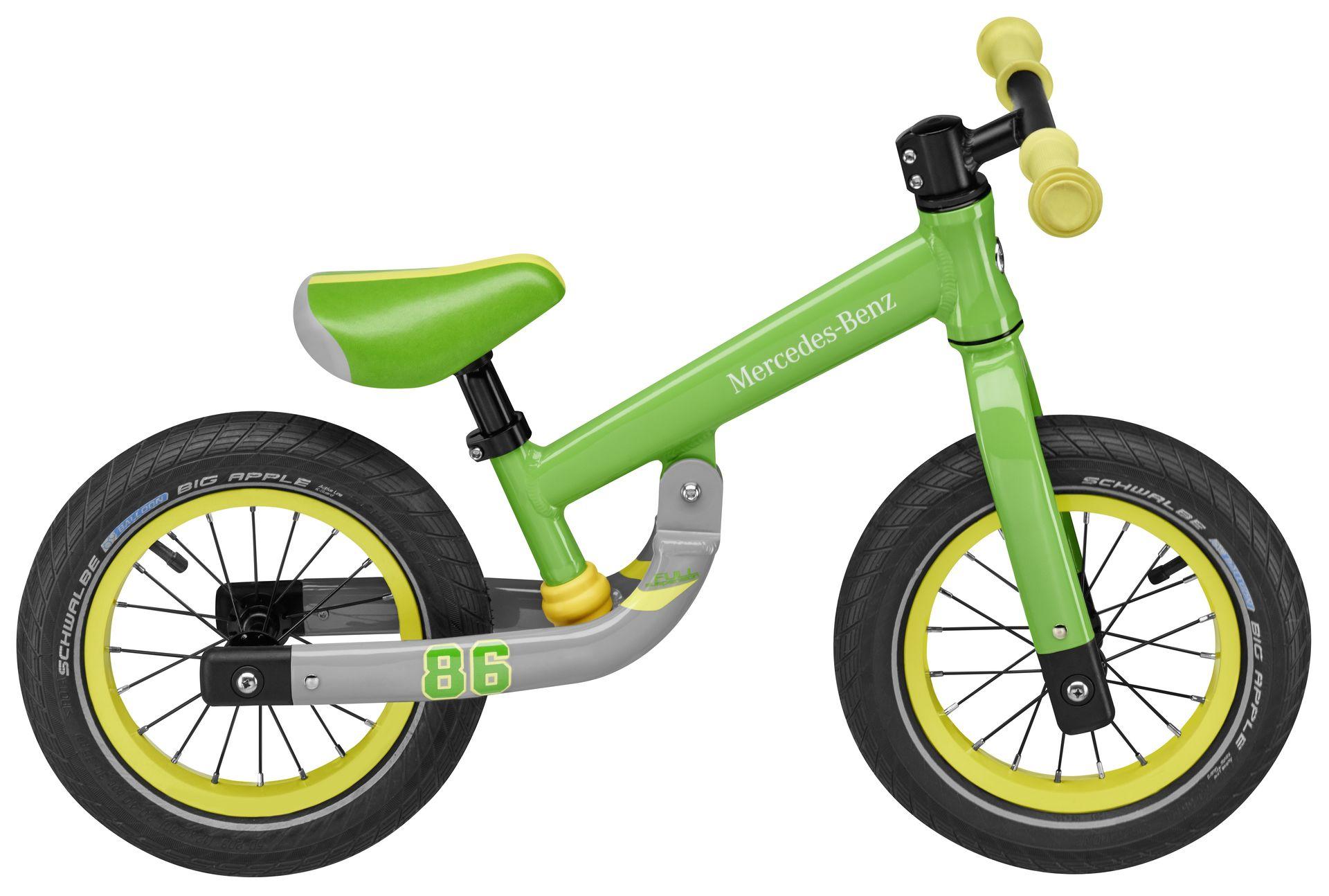 Детский беговел Mercedes Balance Bike, Green
