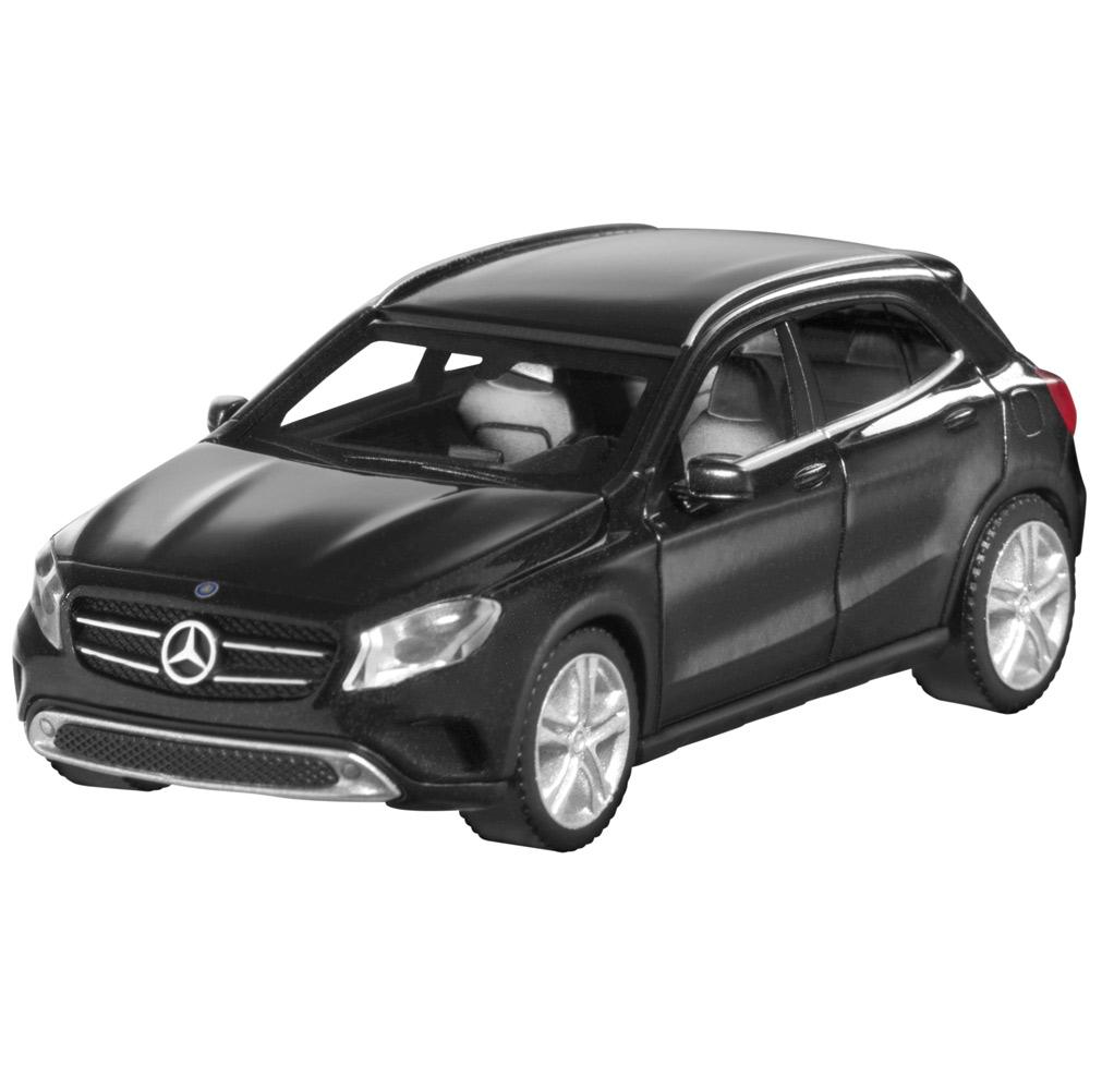 Модель автомобиля GLA, 1:87, черный
