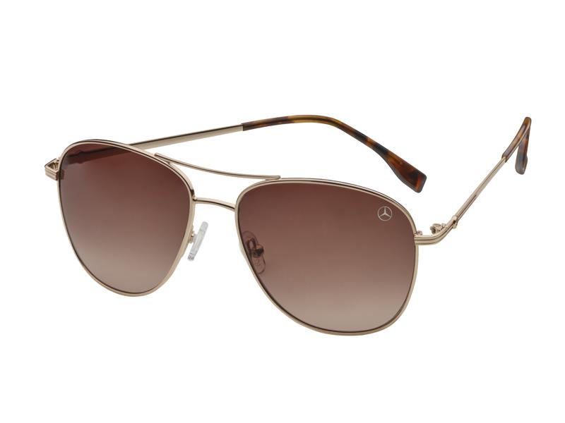 Женские солнцезащитные очки Mercedes-Benz Women's Sunglasses, Business, gold / havana brown