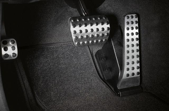 Спортивные педали из нержавеющей стали, с автоматикой, с резиновыми вставками